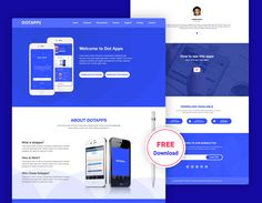 Dot– App Landing Page Free PSD Template is a modern, elegant and professional Responsive App landing PSD template. Dotapps nicely designed for use in any related product/services in the industry like mobile apps, saas applications, software, digital products, books or magazines. Dotapps is well organized and very easy to customize. Promote your app with App … Free Website Templates, Psd Templates, Dot App, App Landing Page, Competitor Analysis, Mobile App, Magazines, Connection, Software