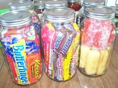 Canning Candy...No food storage would be complete without CHOCOLATE!  And of course Hostess and other types of candy we enjoy. (rolo mini's for me)  Here is a really easy way you can bottle your favorite candy and have it last for years and years!  The chocolate wont turn white, Twinkies wont go stale or hard, it's the best way to add a little luxury to your food storage.