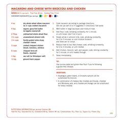 Macaroni Cheese with Chicken Broccoli & Fixate Recipe Updates www. - Macaroni Cheese with Chicken Broccoli & Fixate Recipe Updates www. 21 Day Fix Fixate, 21 Day Fixate Recipes, 21 Day Fix Recipies, 21 Day Fix Diet, Fixate Cookbook, Cookbook Recipes, 21 Fix, Beachbody 21 Day Fix, 80 Day Obsession