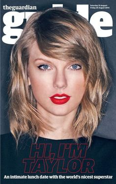 Taylor in The Guardian/Guide magazine (23.08.14)