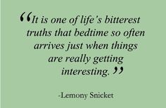 but I just love bedtime so much....