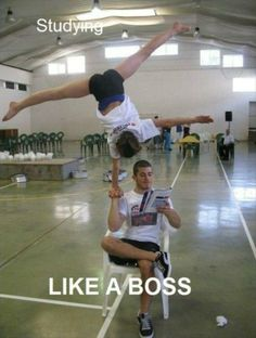 Funny Pictures About Studying Like A Boss Oh And Cool Pics About Studying Like A Boss Also Studying Like A Boss