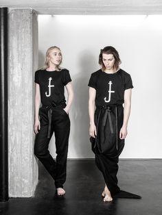 UNISEX fashion, LAURIJARVINENSTUDIO Eco Friendly Fashion, Unisex Fashion, Black Fabric, That Look, Normcore, Unique, Collection, Tops, Style
