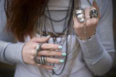 Mixing jewelry