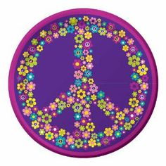"""Creative Converting Groovy Girl Round Dessert Plates, 8 Count by Creative Converting. $4.96. 8 count. Groovy girl themed small round dessert plates. 7"""" round plate. See Creative Converting's coordinating line of party goods and dinnerware, paper plates, napkins, cupcake toppers, hanging decorations, banners, invitations, loot bags and more. Perfect supplies for a birthday party, a 70's themed party or just for when the cheerleading squad gets together at your house. From the Man..."""