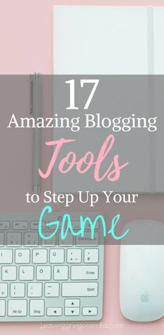 Blogging for beginners can be an overwhelming experience. Click to find out my go-to list of blogging tools, blogging tips, and blogging resources!