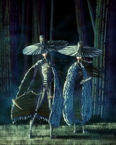"icedbubbles: ""Kubo's Aunts from Kubo and the Two Strings """