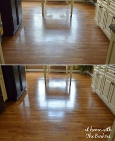 25 Easy Step By Step Makeup Tutorials For Teens Step By Step Makeup Tutorials For Teens Wood Floor Polish, Clean Hardwood Floors, Diy Cleaners, Home Remedies, Diy And Crafts, Life Hacks, House Design, Cleaning, Flooring