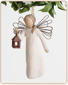 Angel of Hope Ornament...Sharing the light of hope and courage (WANT)