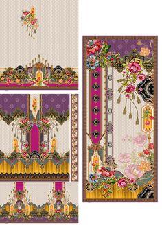 Textile Pattern Design, Motif Design, Border Design, Textile Patterns, Textiles, Paisley Art, Design Research, Design Seeds, Geo