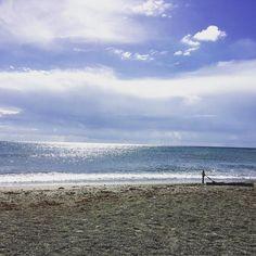 Buongiorno dal mar ligure di Loano #Loano #Liguria #Italia #loveisanowl