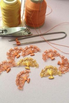 This post was discovered by Ay Needle Tatting, Tatting Lace, Needle Lace, Bobbin Lace, Hairpin Lace Crochet, Thread Crochet, Knit Crochet, Tatting Patterns, Sewing Patterns