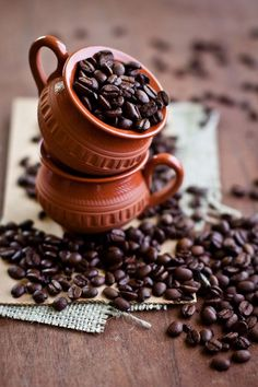 noperfectdayforbananafish: coffee beans (by Sunshine and Smile) #CoffeeBeans