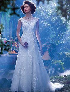 Tu cuento de hadas se hará realidad con un vestido de novia estilo DisneySentirte como una princesa de cuento de hadas es el sueño de la mayoría de las mujeres , si es el día de tu boda aún mejor. El estilo de diseño basado en Disney de este vestido...