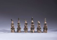 Recent hares in Julie Scott's 'A memory of something beautiful; The Irish Hare'…