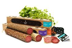 Planet Creative crafted a salami packaging with a natural and rustic feel with…