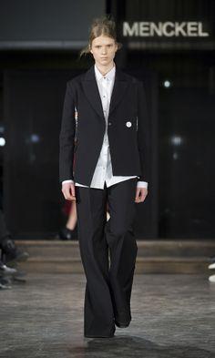 MENCKEL A/W '14 Stockholm Fashion Week, Copenhagen Fashion Week, Fall Winter 2014, Must Haves, Runway, Pants, Jackets, Shopping, Collection
