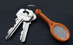 Llavero de Raqueta de Tennis - ThingsCreators