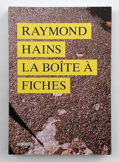 Raymond Hains, La Boîte à fiches Raymond Hains, Nouveau Realisme, Artgallery, Galerie D'art, Les Oeuvres, Editorial, Artwork, Contemporary Art, Work Of Art