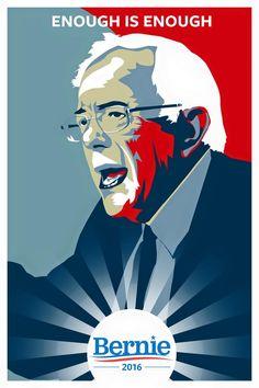 Enough is Enough - Bernie Sanders 2016 #feelthebern