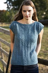 Sonora is knit in one piece from the bottom up to the underarms. The yoke is then worked back and forth and the shoulders bound off using a Bind Off. The sleeves are then picked up and worked in the round. Knitting Patterns Free, Knit Patterns, 3 Needle Bind Off, Summer Knitting, Top Pattern, Pulls, Knit Crochet, Sweaters For Women, Shirts
