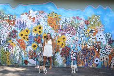Looking for gorgeous Nashville murals to serve as your photo backdrops. Check out the best street art in East Nashville, 12 South, the Gulch and beyond. Nashville Murals, Installation Street Art, Art Installations, School Murals, Best Street Art, Photography Backdrops, Floral Wall, Lightroom Presets, Amazing Photography