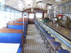 Interior of Wilson's Diner, Waltham, MA. Classic!