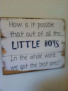 For our boys ♥... Easy DIY :)