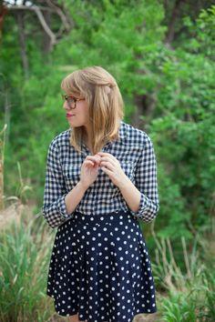 gingham & polka dots | writes like a girl