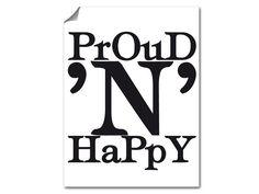 Proud N Happy Poster