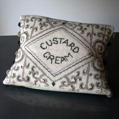 Custard Cream Tapestry Cross Stitch Kit - Design Copyright Jacqui Pearce