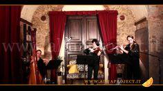 ALMA PROJECT - Harp Violin & Flute DC - Il castello errante di Howl (ハウルの動く城)