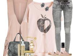#Pastell im #Alltag - Ein tolles #Outfit mit zarten #Rosétönen!