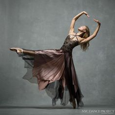 nycdanceprojectMiriam Miller, New York City Ballet. Dress by Reem Acra. Hair and makeup by Juliet Jane.