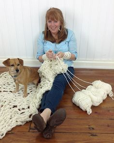 Right-Handed Arm Knitting Videos