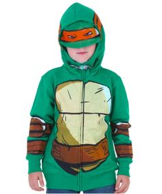 TMNT Juvy Mikey Costume Hoodie: Just in case the Foot Clan attack your home, this TMNT Juvy Mikey Costume… #TShirts #CustomShirts #BandTees