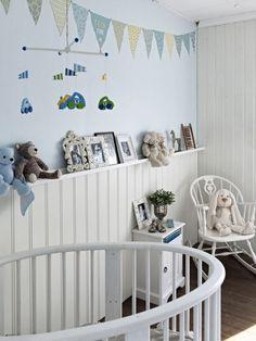 dormitorio infantil estilo escandinavo