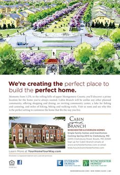 Cabin Branch - Winchester Homes - New Homes Guide