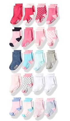Country Kids Baby Boys Fun Zoo Animal Stocking Stuffer Socks Seamless Toe 6 Pair Gift Set
