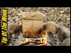 This Guy Cooked Breakfast In A Paper Bag. I Have Never Seen A Better Trick. | Sun Gazing
