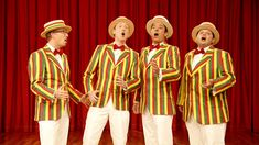 Meet the Late Night Barbershop Quartet: The Ragtime Gals (+playlist)