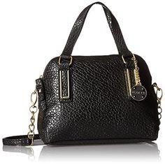 Rosetti. Micro Polly Black Crossbody Handbag Purse Medium