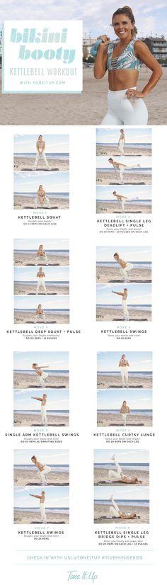 New Bikini Booty Kettlebell Workout | Posted By: CustomWeightLossProgram.com