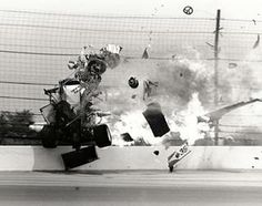 Gordon Smiley fatal crash. Worst Indy 500 crash.