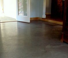 Concrete can be repaired, cleaned, stained, coated, stenciled, stamped, covered in epoxy, swept, mopped, buffed to perfection and so much more...