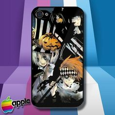 D Gray Man Allen Walker Yu Kanda Lenalee Lee Lavi iPhone 4 or iPhone 4S case Cov
