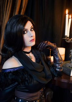Yennefer Cosplay (The Witcher) http://ift.tt/2jnHuUy