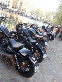 Paris Classic Motos, Motard reunion, Paris 10ème