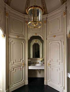 bathroom & paneling