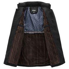c5ea118ace6d12 Wintermode herren Warme Fleece Jacke Mantel Lässig Wolle Jacke Plus Größe  S-XXL